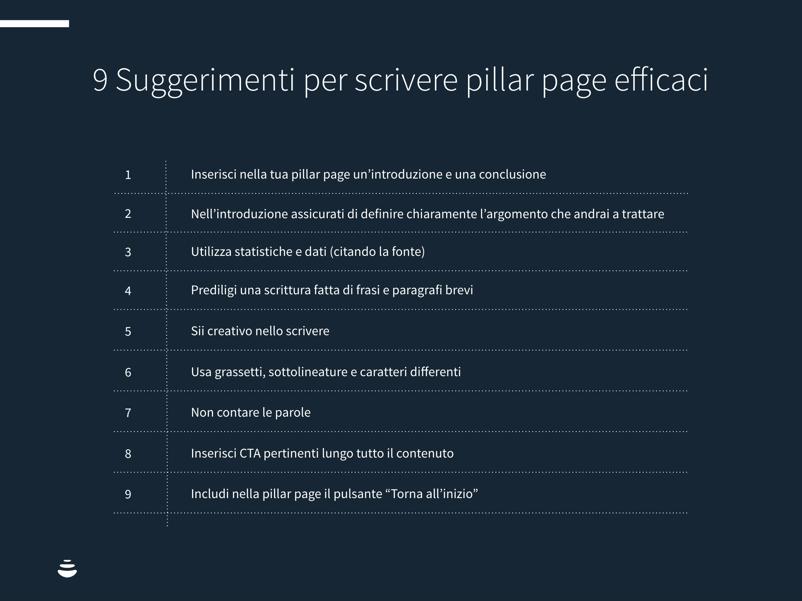 9 suggerimenti per scrivere una pillar page efficace-1