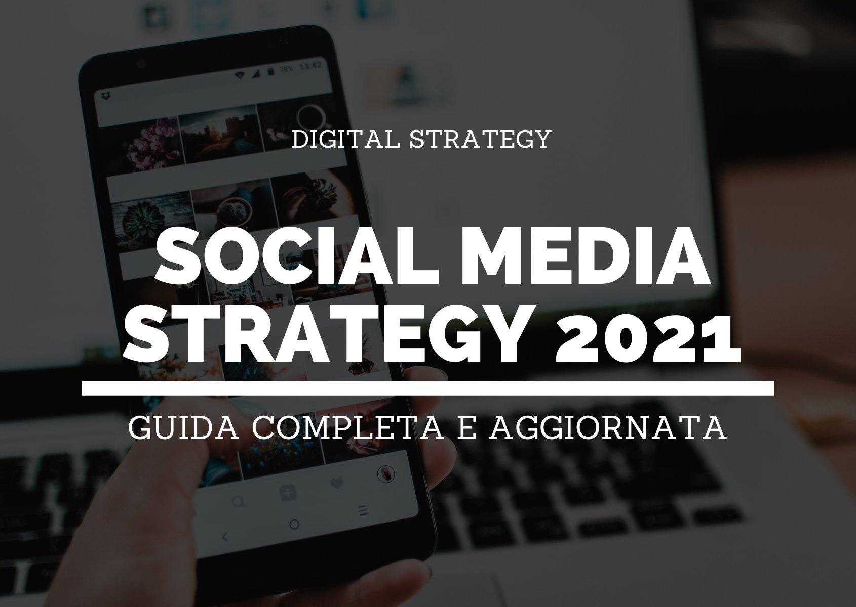 Blog post - Social media strategy 2021 - header