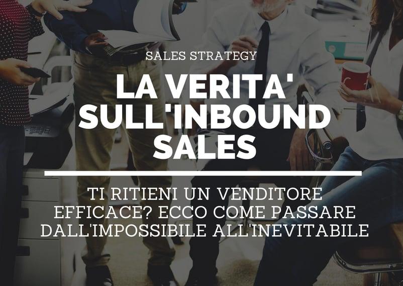 adottare l'inbound sales
