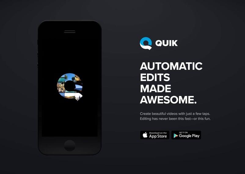 GoPro Quik: creare video per i tuoi canali social non è mai stato così semplice!