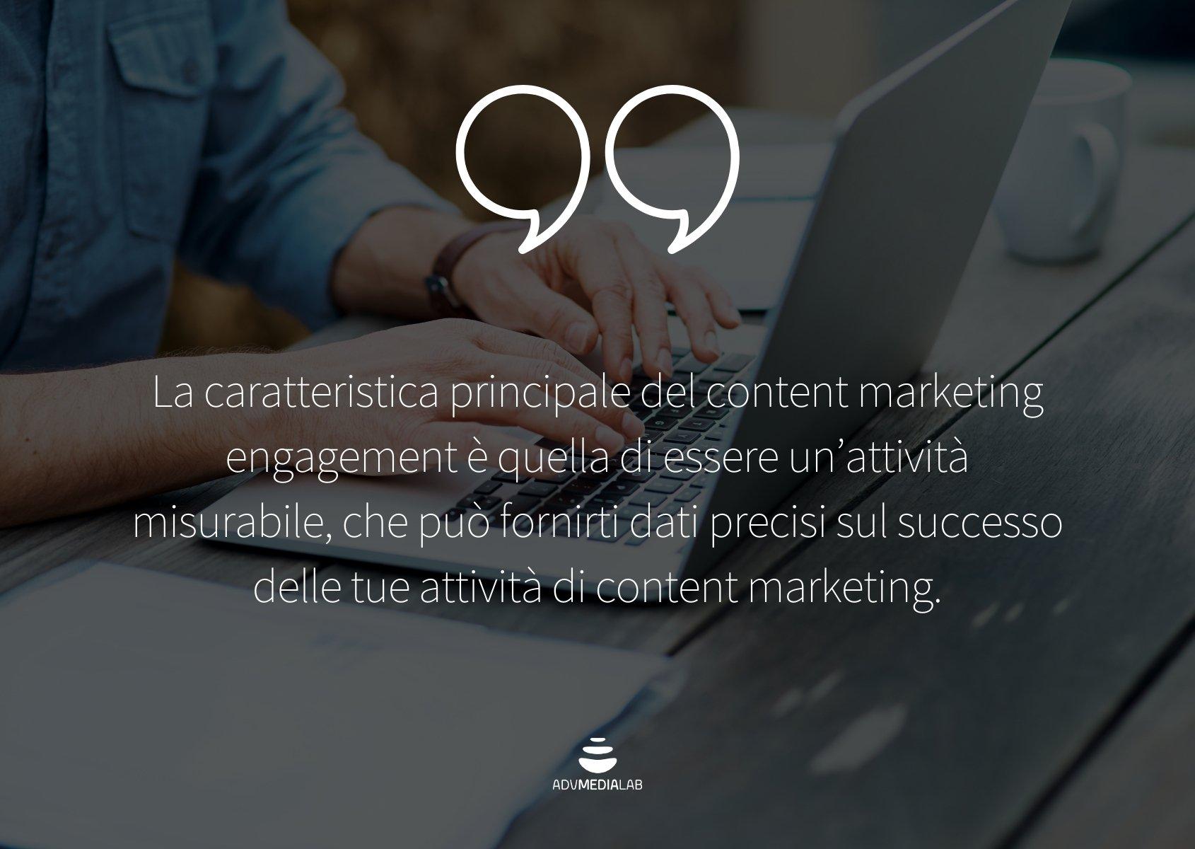 Misurare e aumentare il content marketing engagement