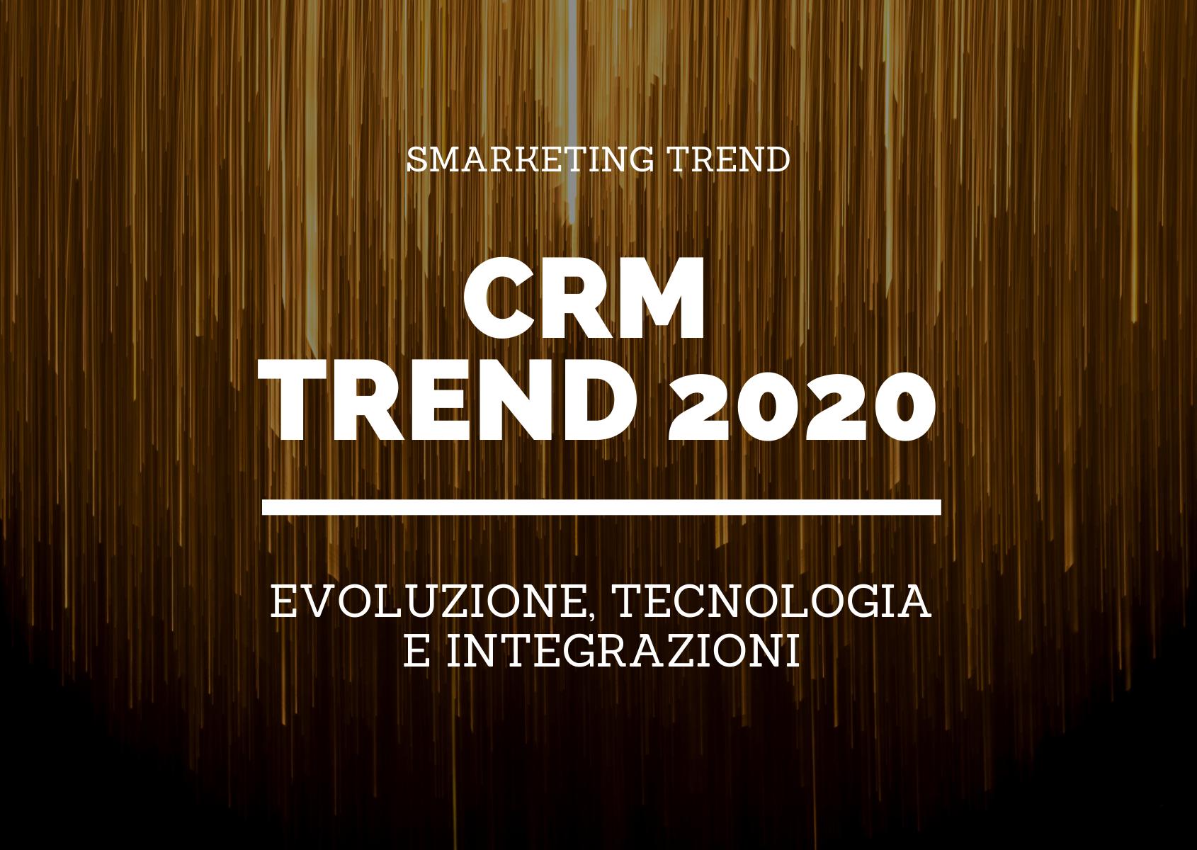 CRM trend 2020