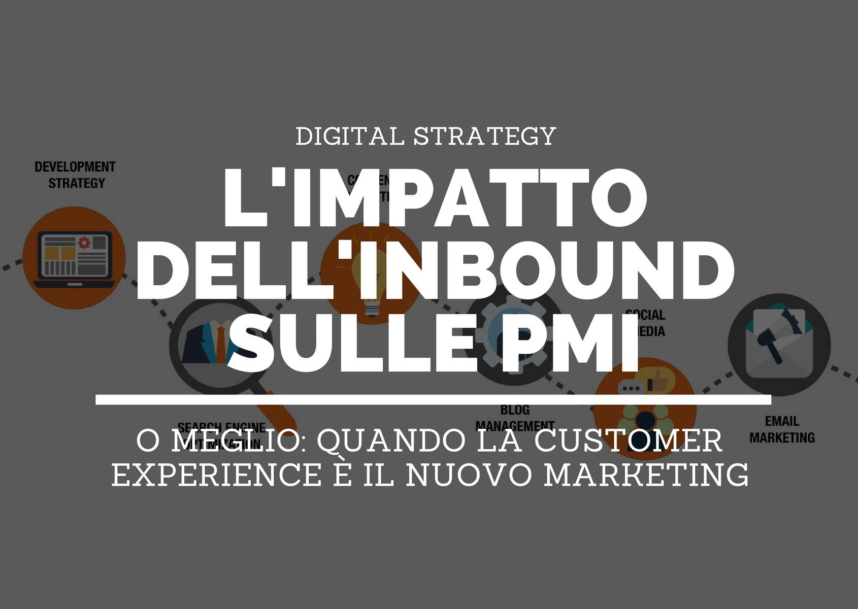 L'impatto dell'inbound marketing, sales e service sulle PMI