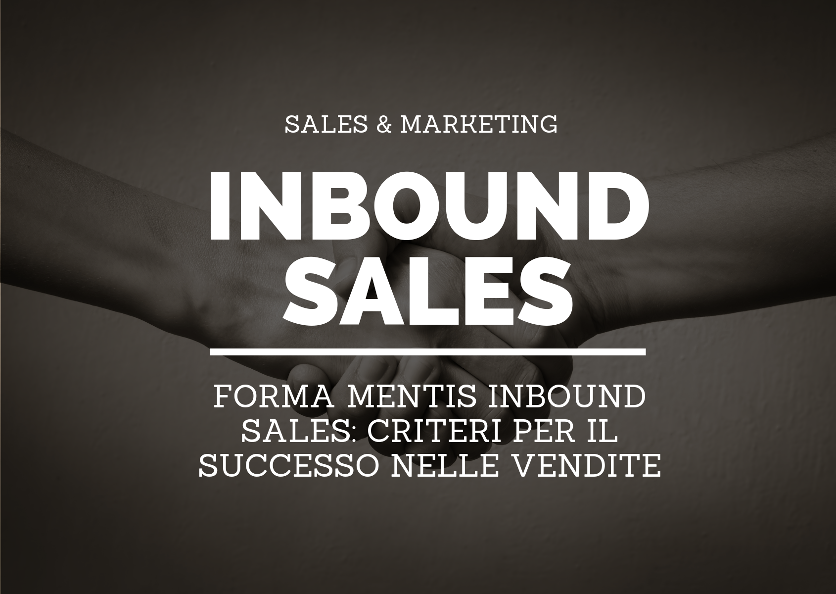 INBOUND SALES MARKETING