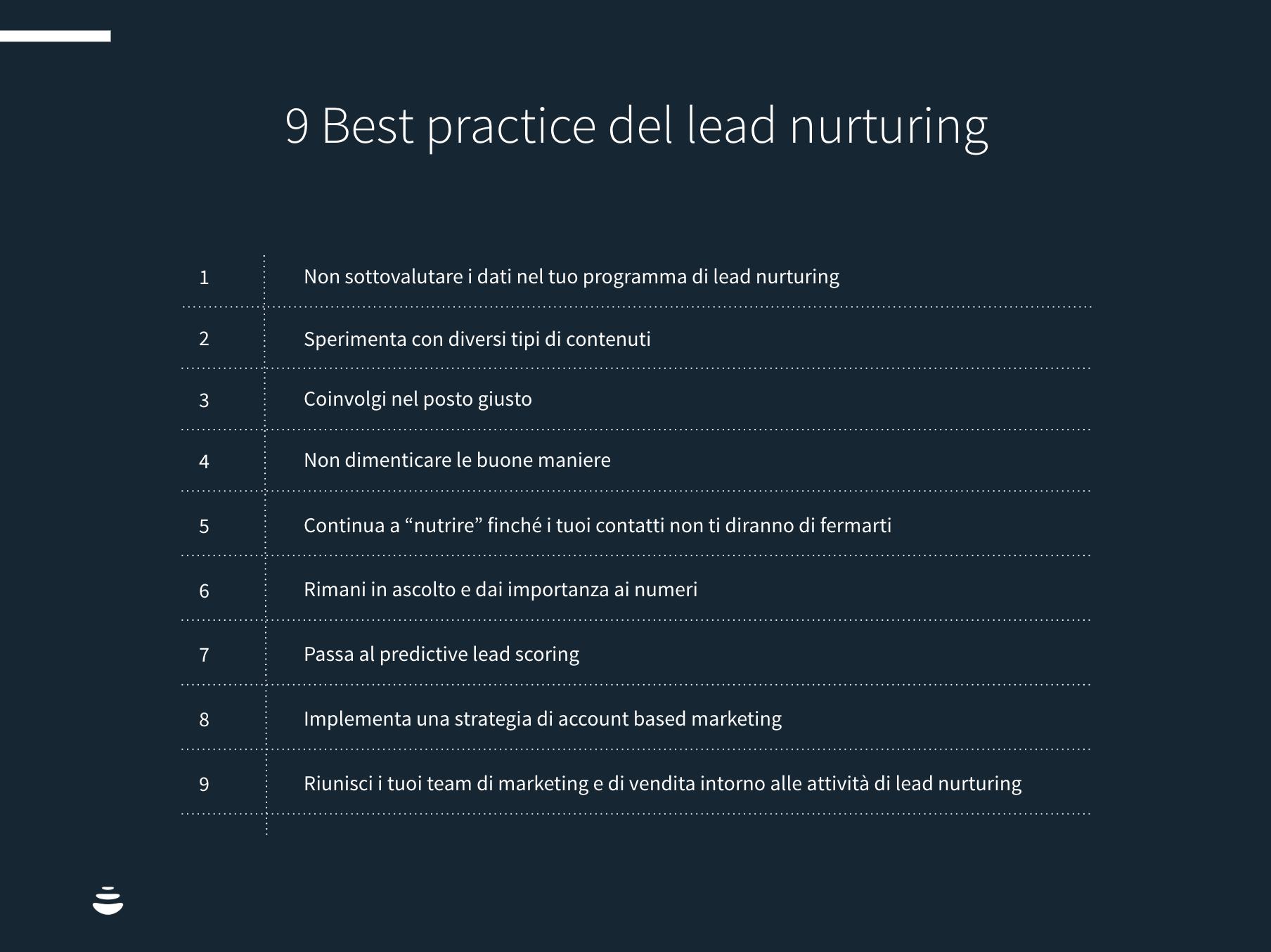 Lead nurturing per il B2B e marketing industriale come creare e mantenere relazioni con i clienti