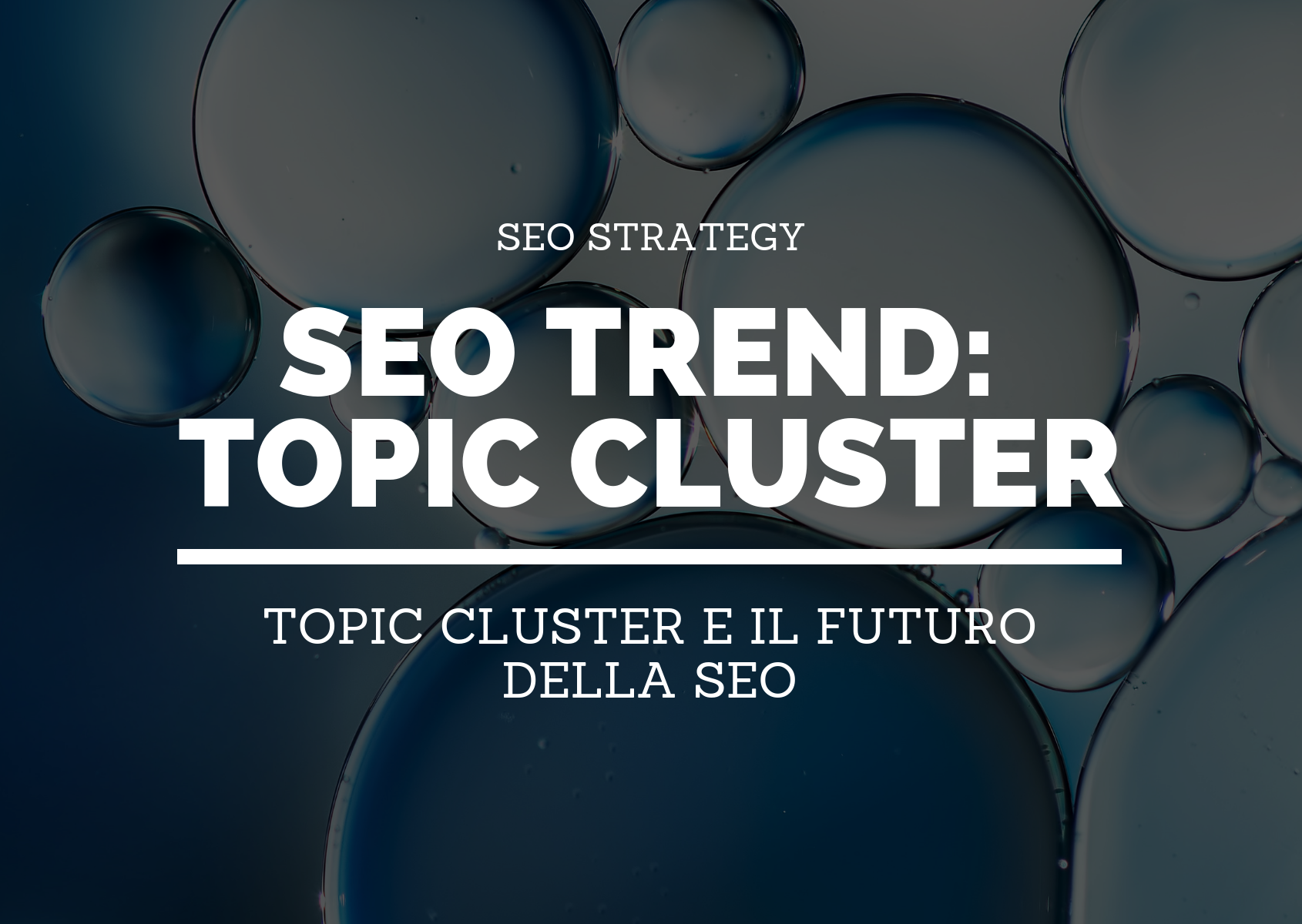 SEO TREND_  Topic CLUSTER