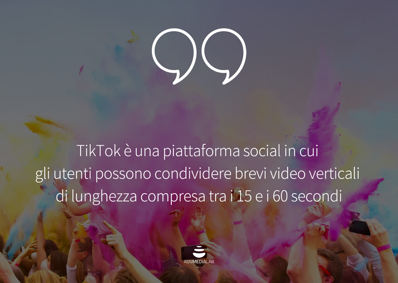 TIKTOK MARKETING PIATTAFORMA