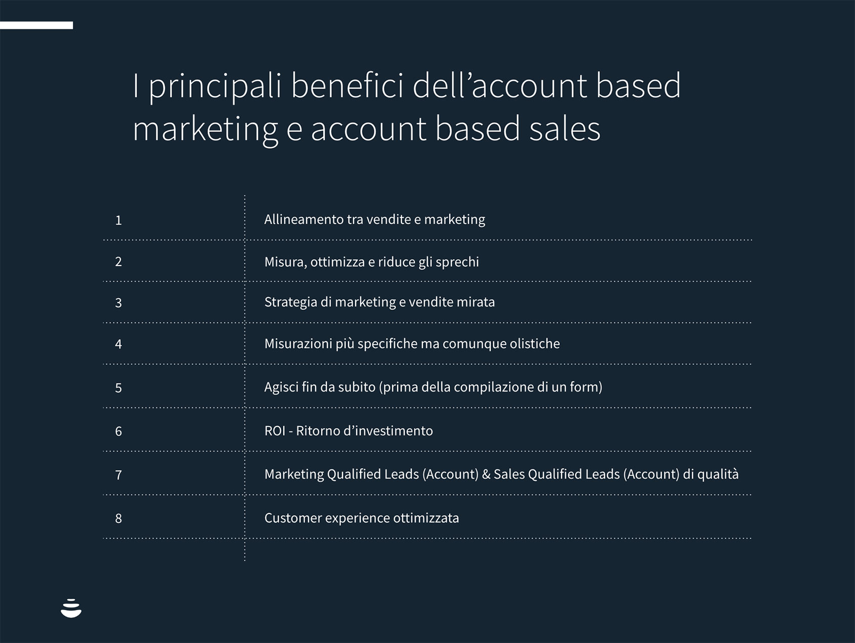 I principali benefici dell'account based marketing