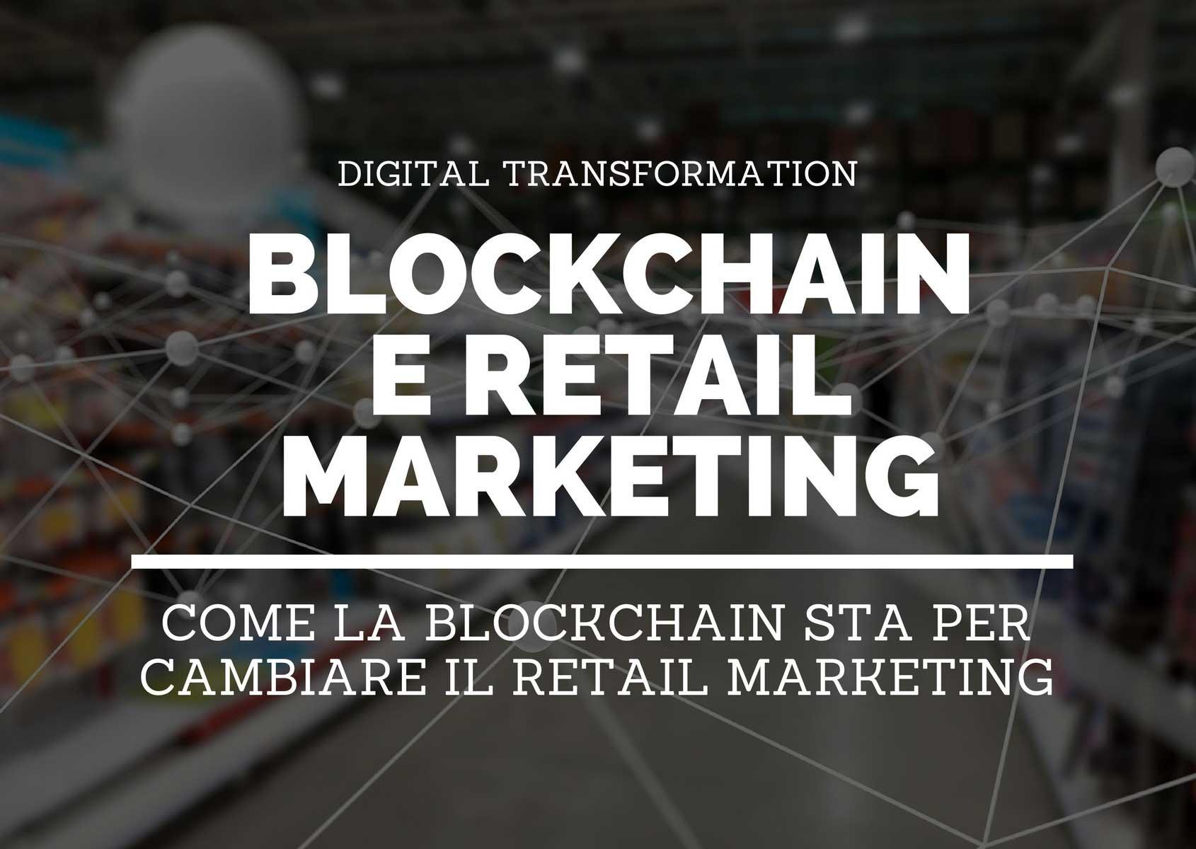 blockchain e retail marketing