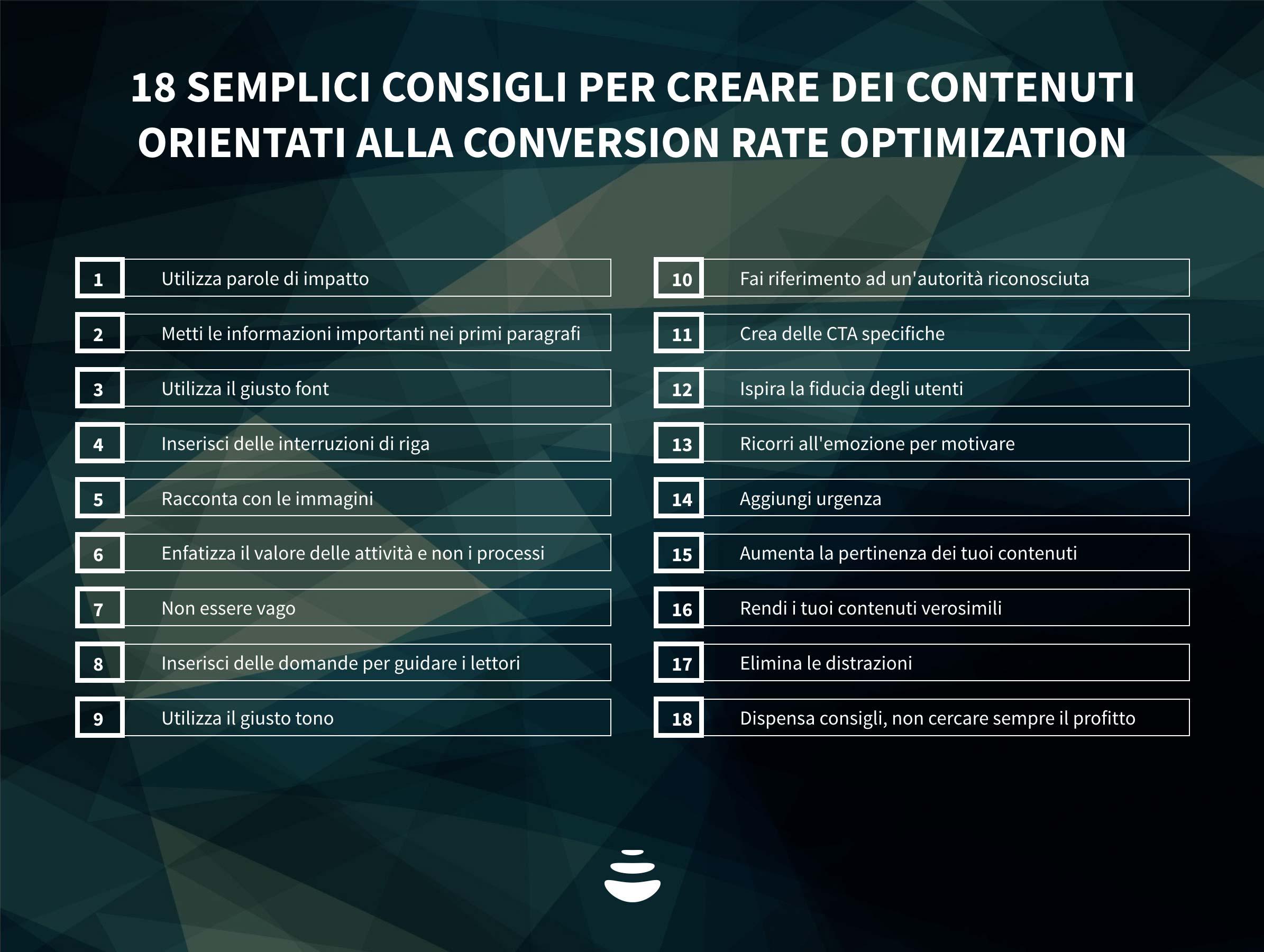 conversion rate optimization e content marketing