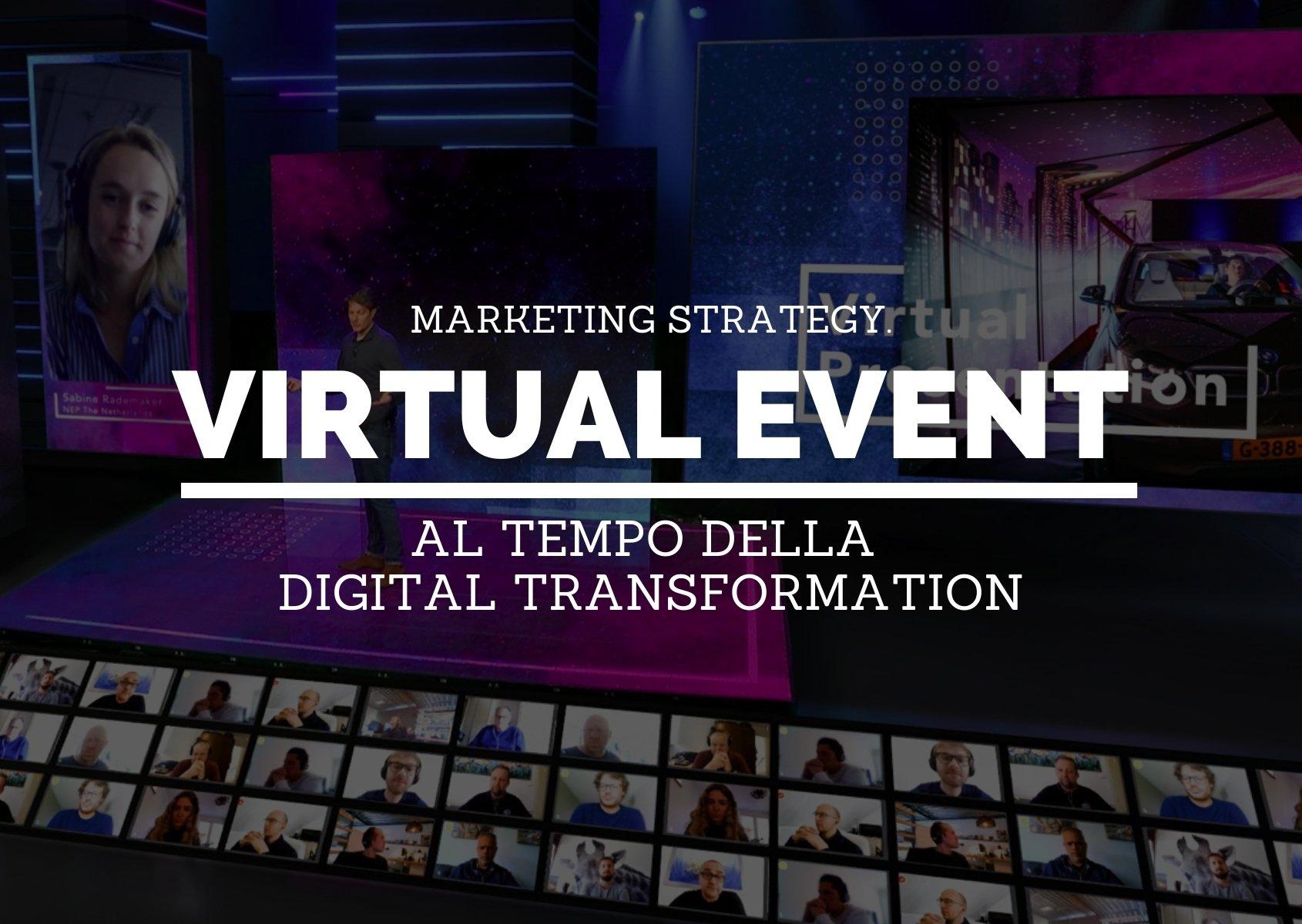 copertina: Virtual Event al tempo della Digital Transformation