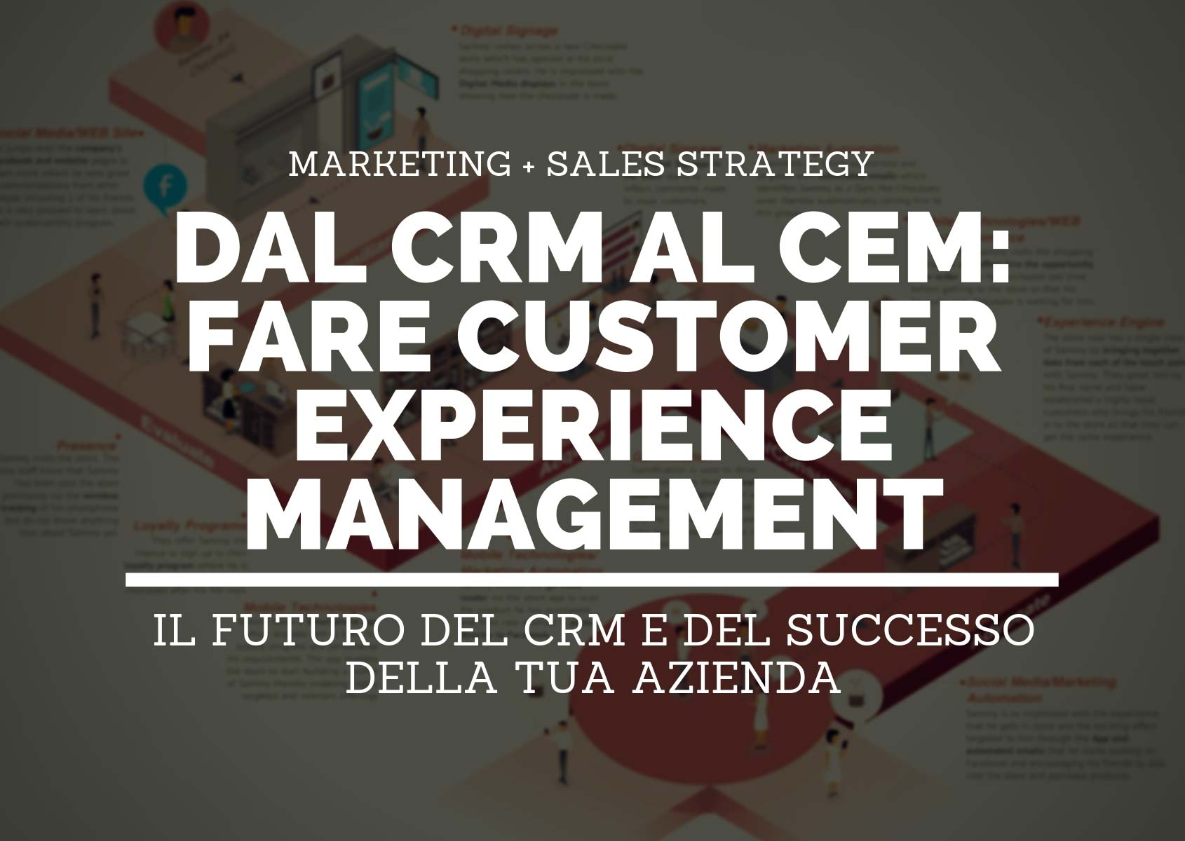 Customer Experience Management (CEM o CXM): il futuro del CRM e del successo della tua azienda