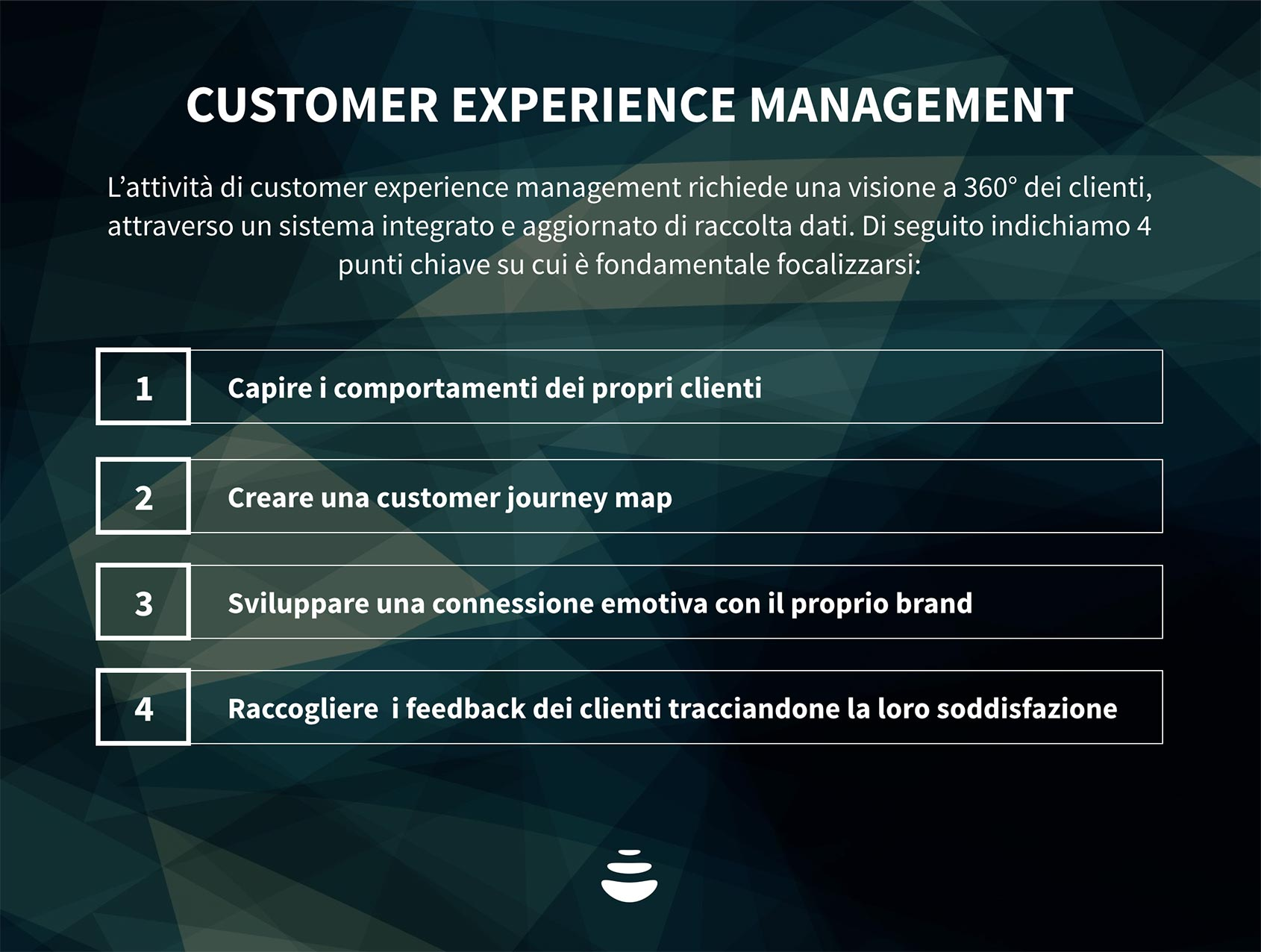 customer experience management definizione