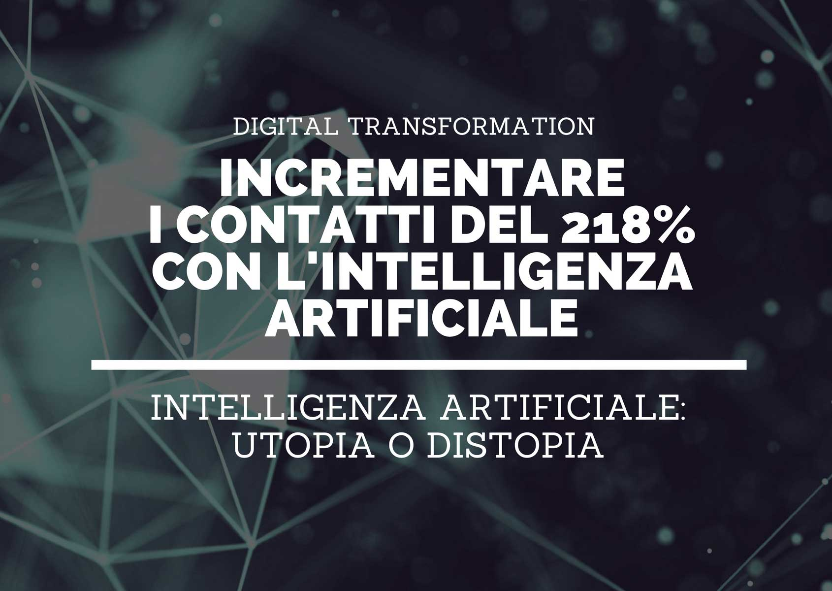 Quando una palestra incrementa i contatti del 218% grazie all'intelligenza artificiale