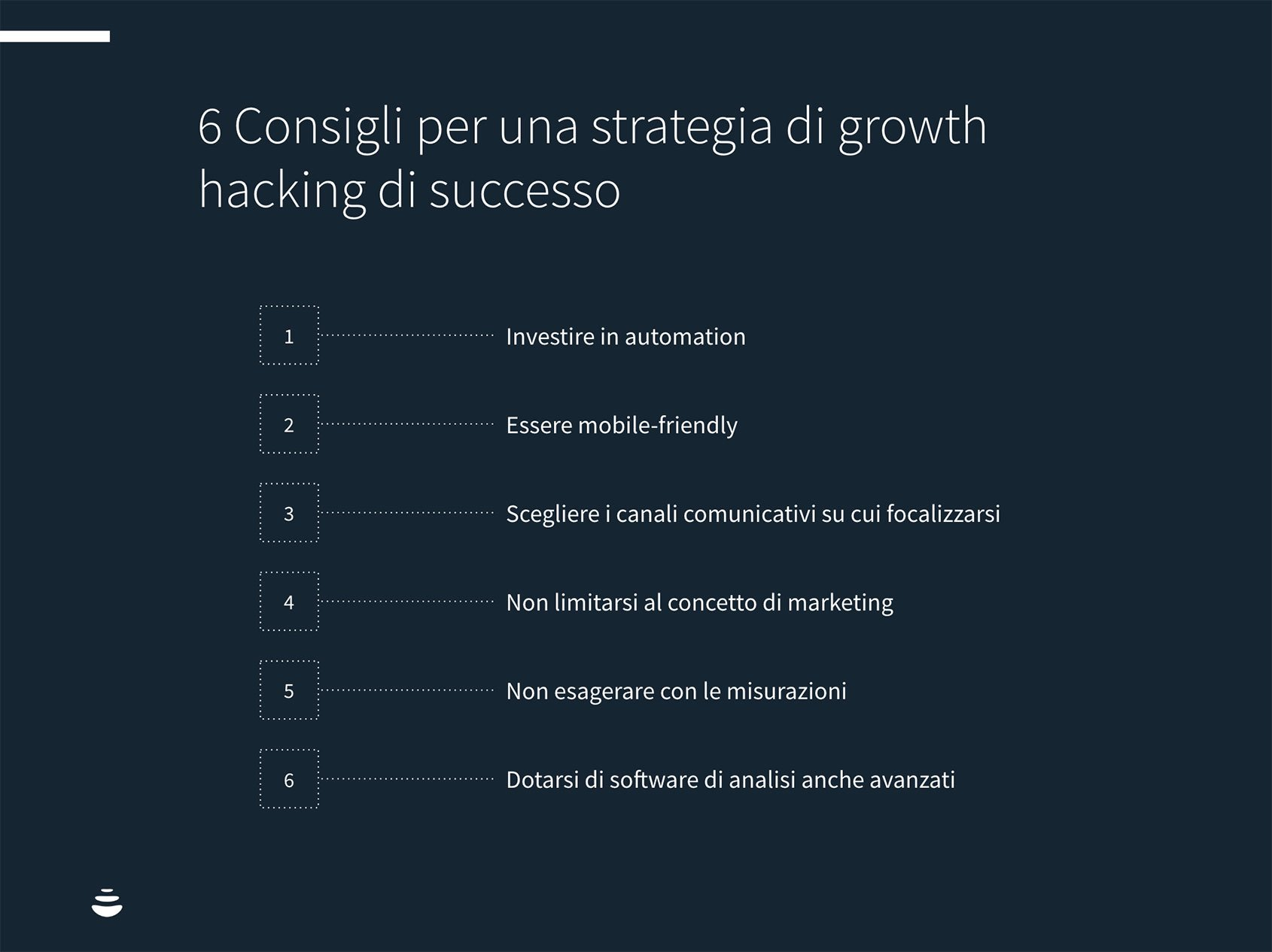 6 Consigli per una strategia di growth hacking di successo
