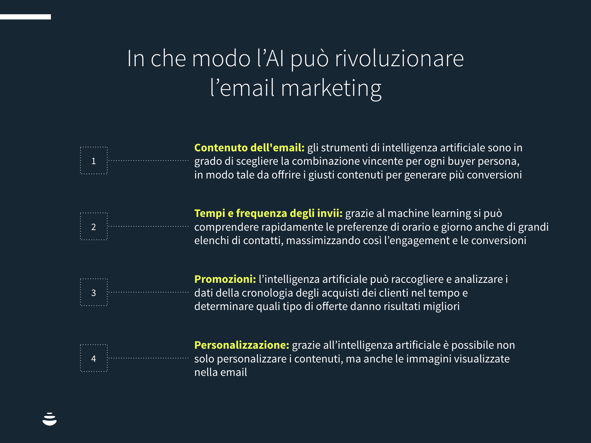 intelligenza artificiale email marketing