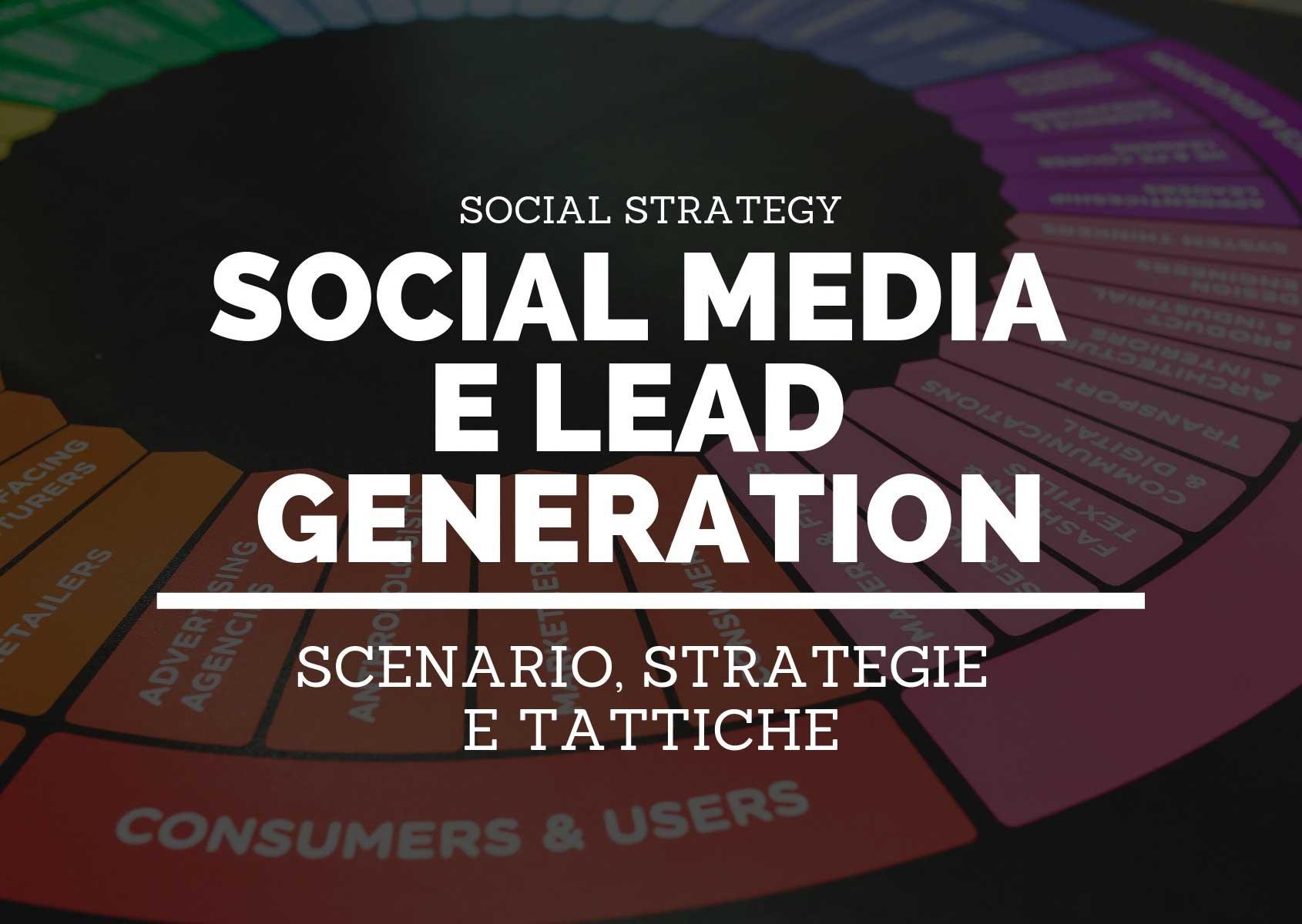 social media marketing e lead generation