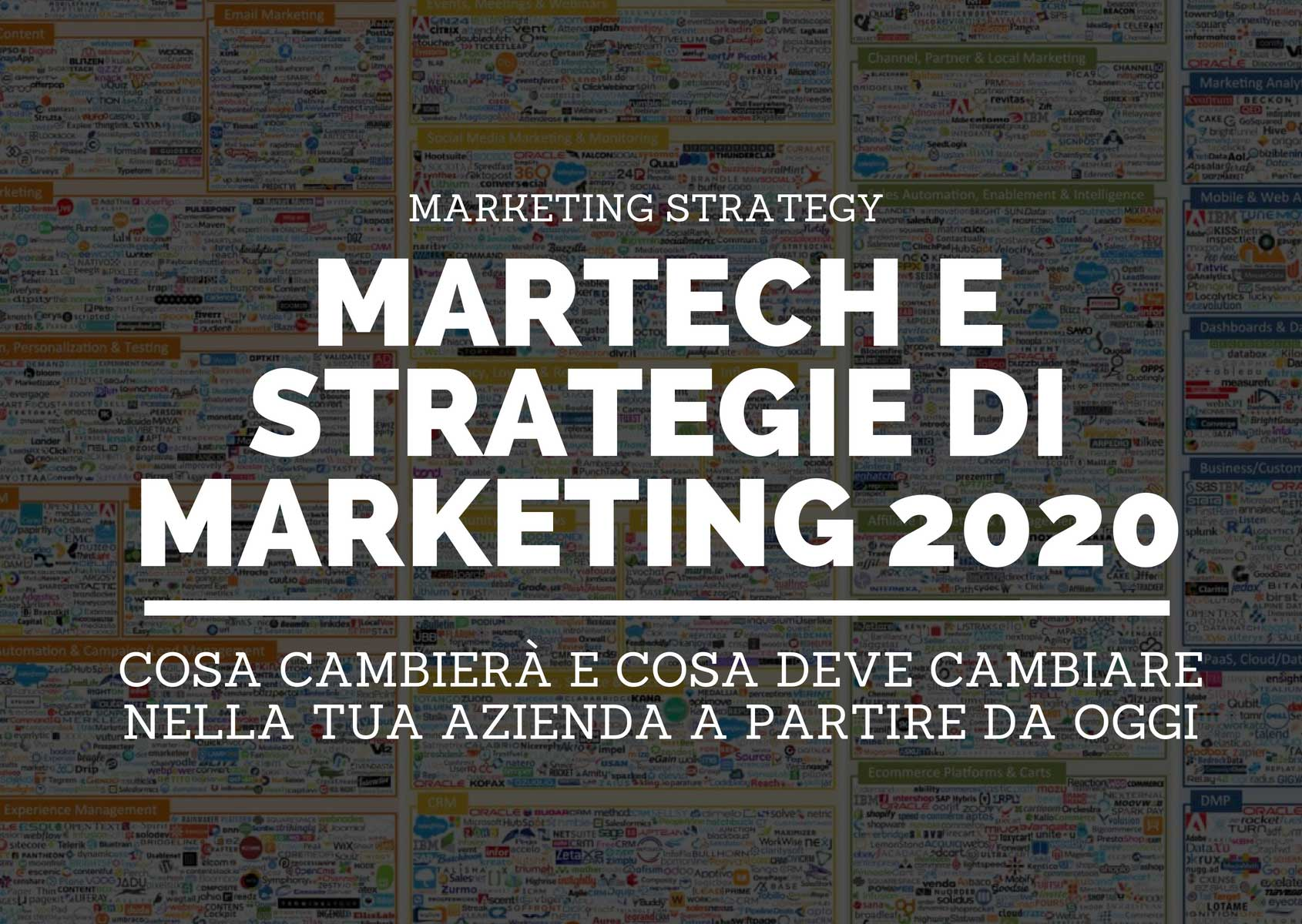 Le tecnologie che cambieranno le tue strategie di marketing entro il 2020