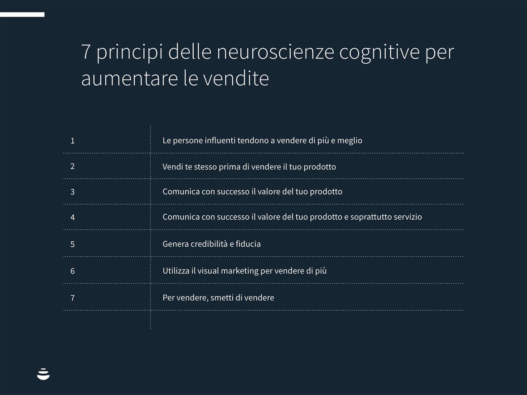 neuroscienze e vendite