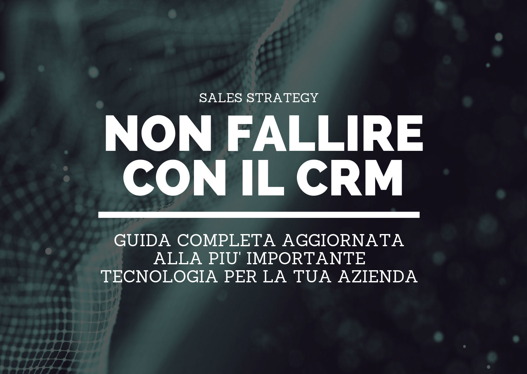 Perché l'implementazione di un CRM fallisce
