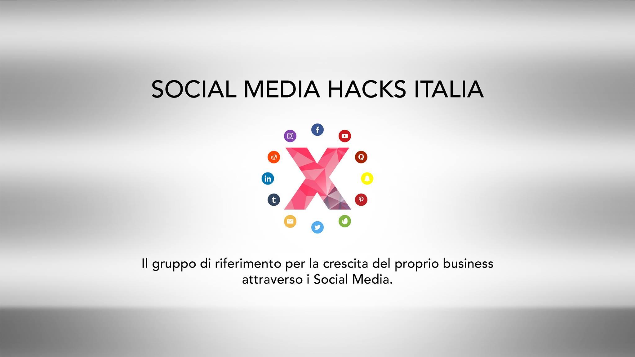 Social media hacks italia