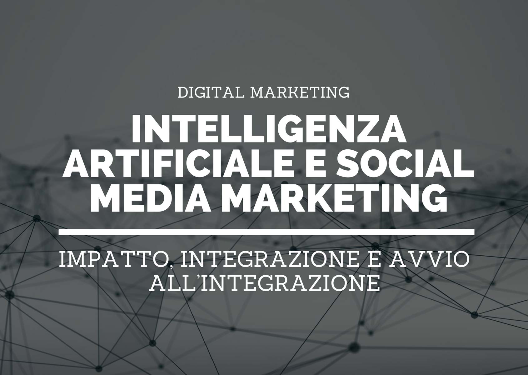 L'impatto dell'intelligenza artificiale sul social media marketing