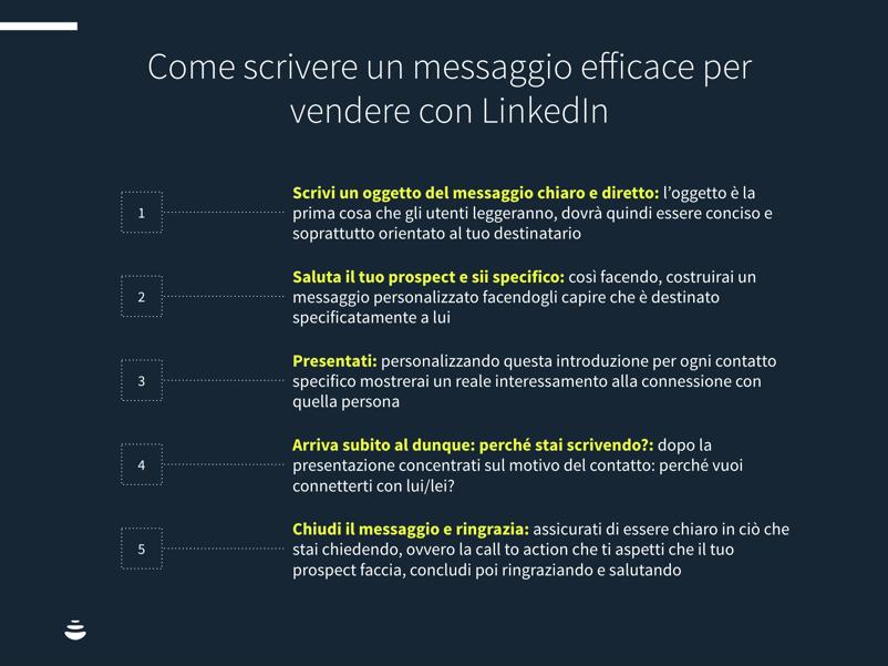suggerimenti per linkedin inmail