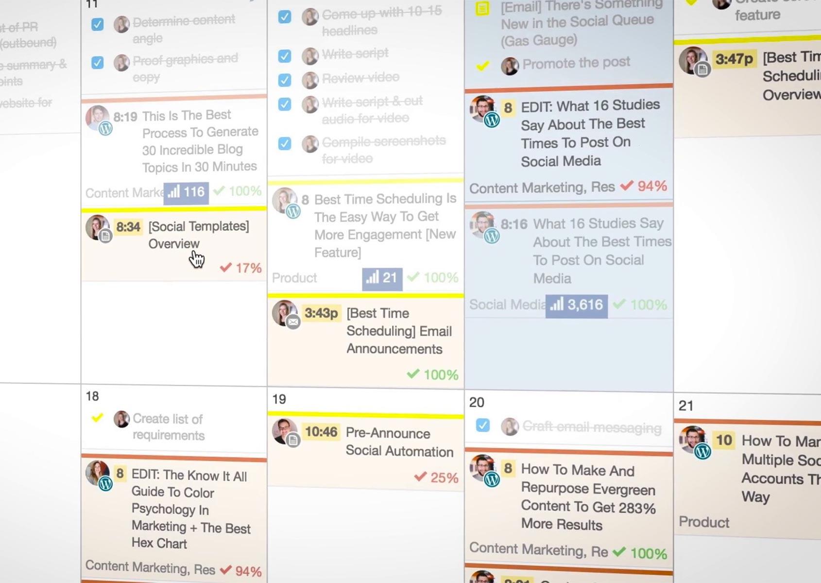 """CoSchedule: il primo """"marketing calendar"""" per la gestione smart di blog e social media"""