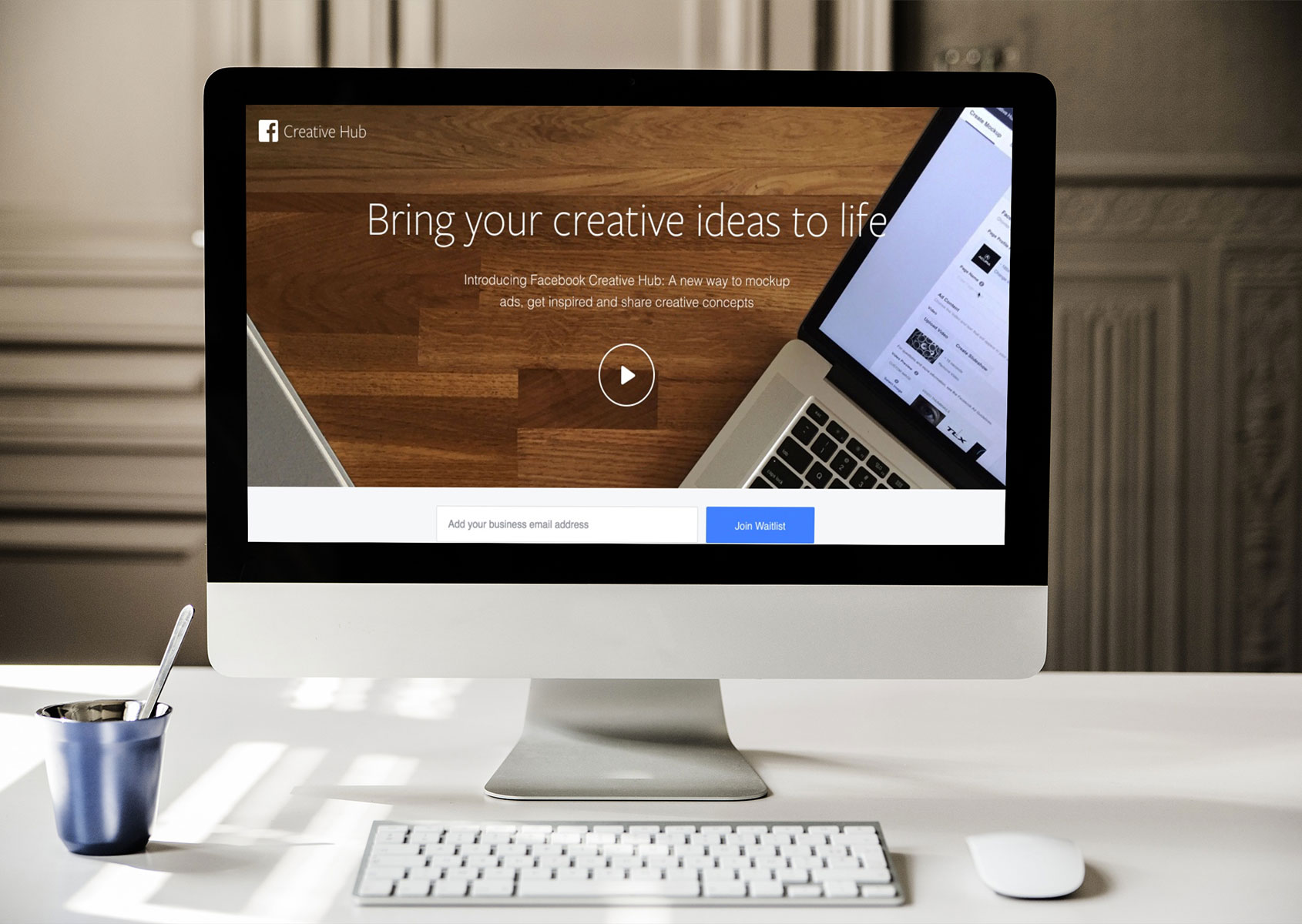 Creative Hub di Facebook: un nuovo modo per creare mockup, sperimentare e rimanere ispirati
