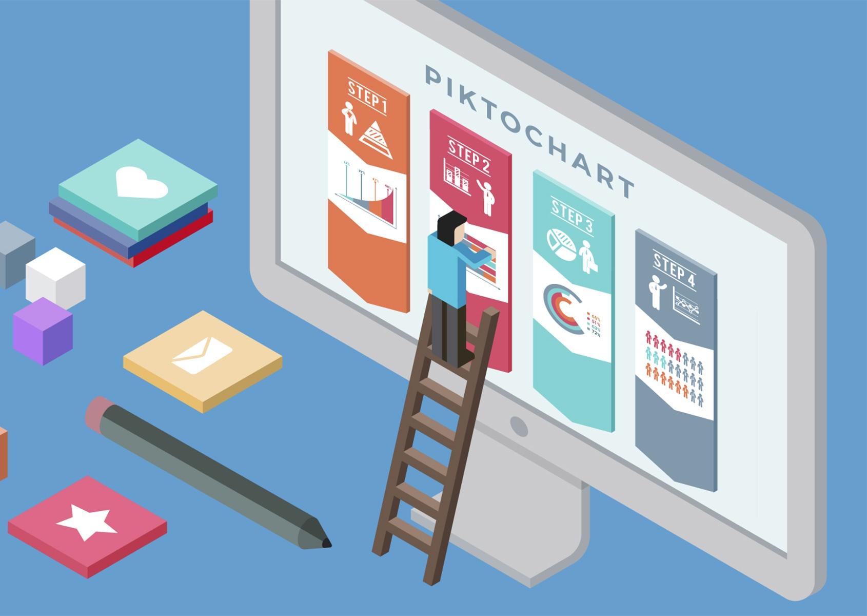 Picktochart e strumenti per infografiche: dal dato numerico al contenuto visuale