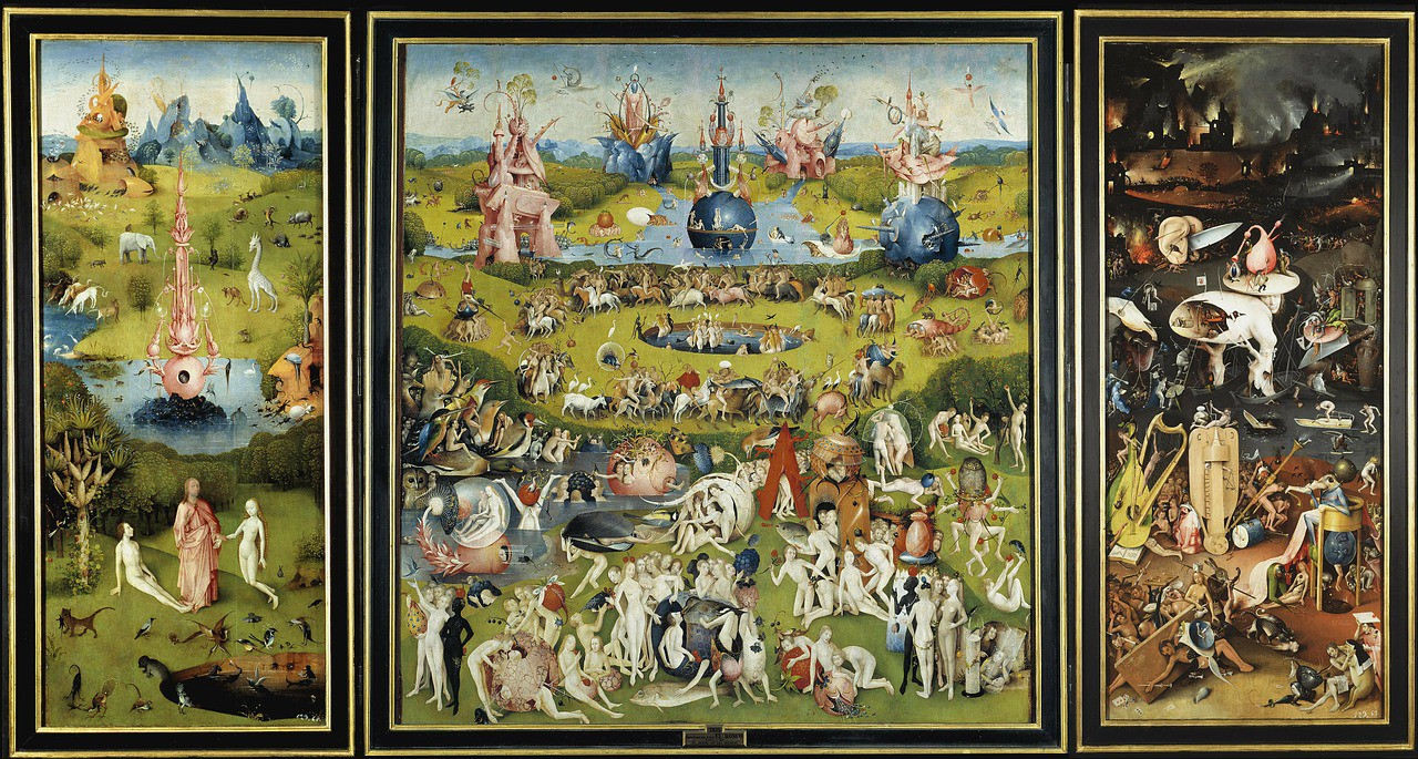Trittico del Giardino delle delizie - Hieronymus Bosch.